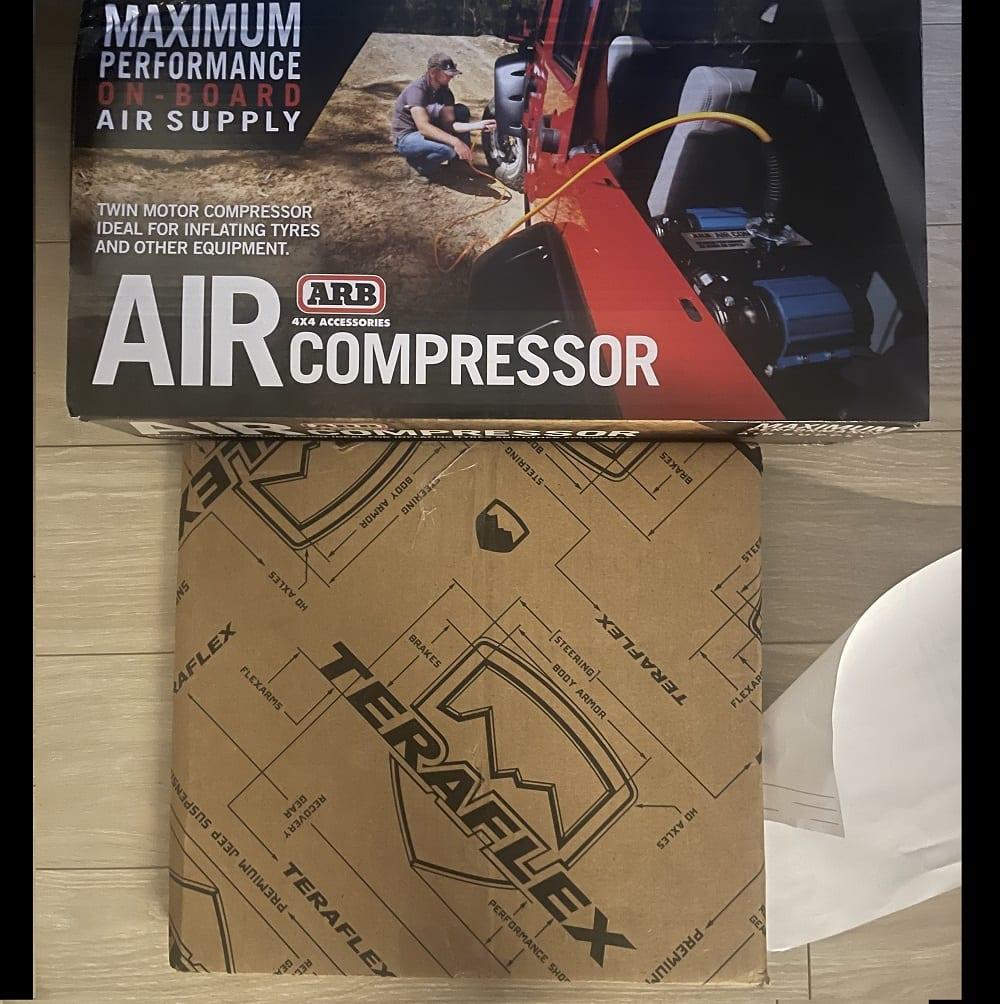 1. Purchase a Jeep Wrangler JK Passenger Seat ARB Twin Compressor Mounting Bracket