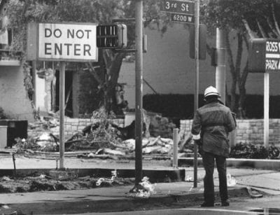 1985 Methane Gas Store Explosion in Los Angeles