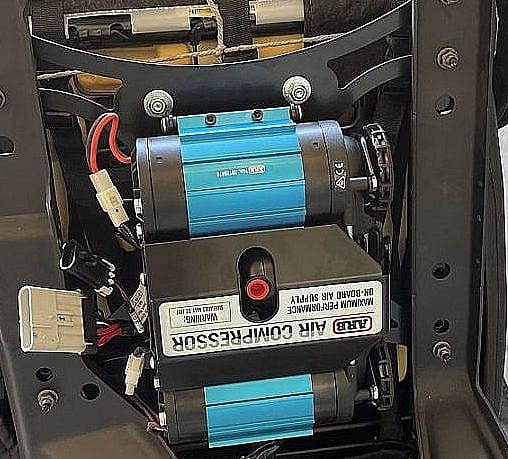 ARB Twin Compressor Install Under Jeep Wrangler JK Passenger Seat