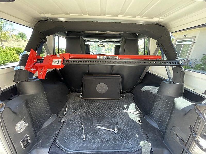 Hi-Lift Jack Top Mount Jeep Wrangler JK Roll Cage