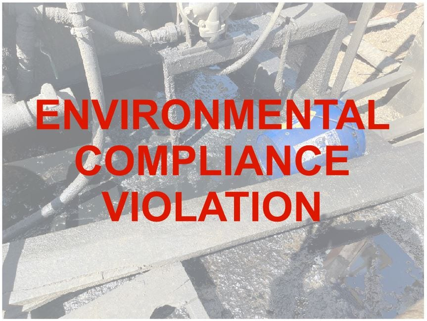 Environmental Compliance Violation Correction Services By Geo Forward