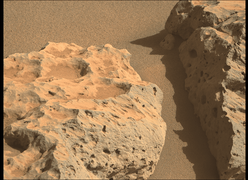 Geologic Description of Mars Perseverance Sol 125 Photo Color