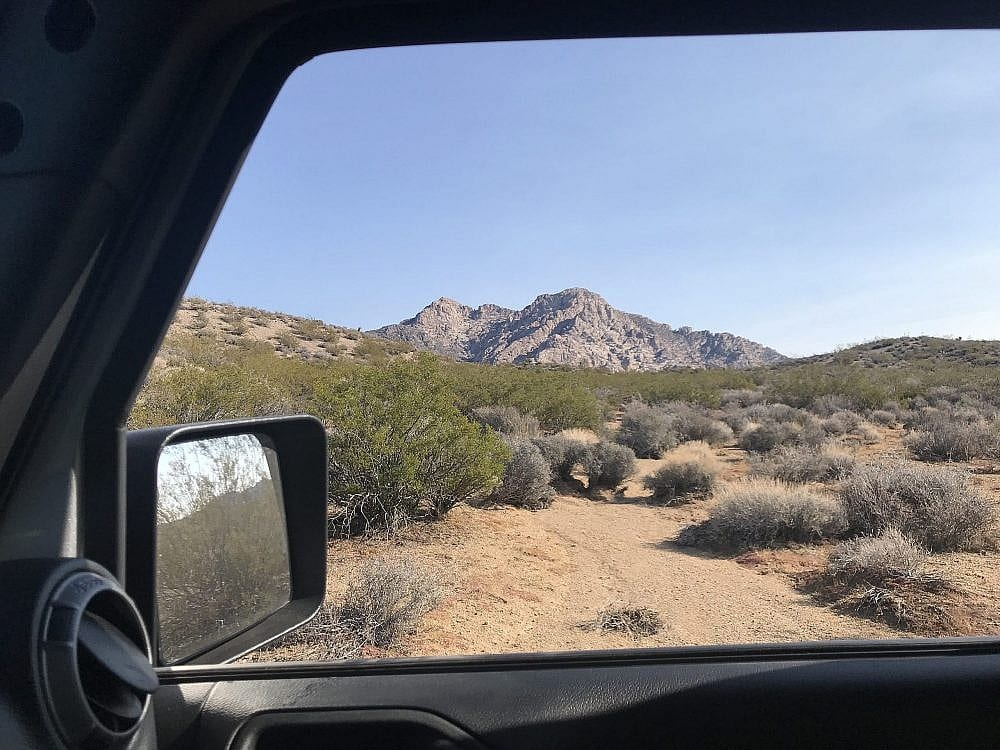 Geologist Vehicle Jeep Rock Formation View