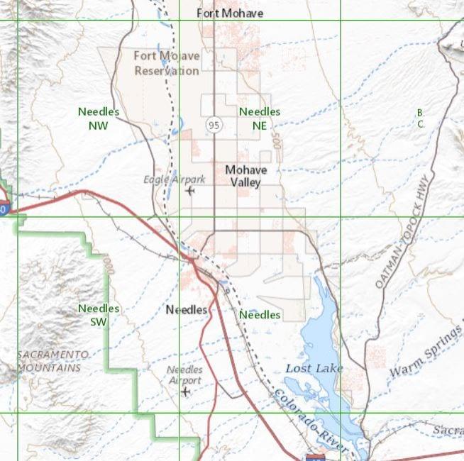 Geology of Needles, CA