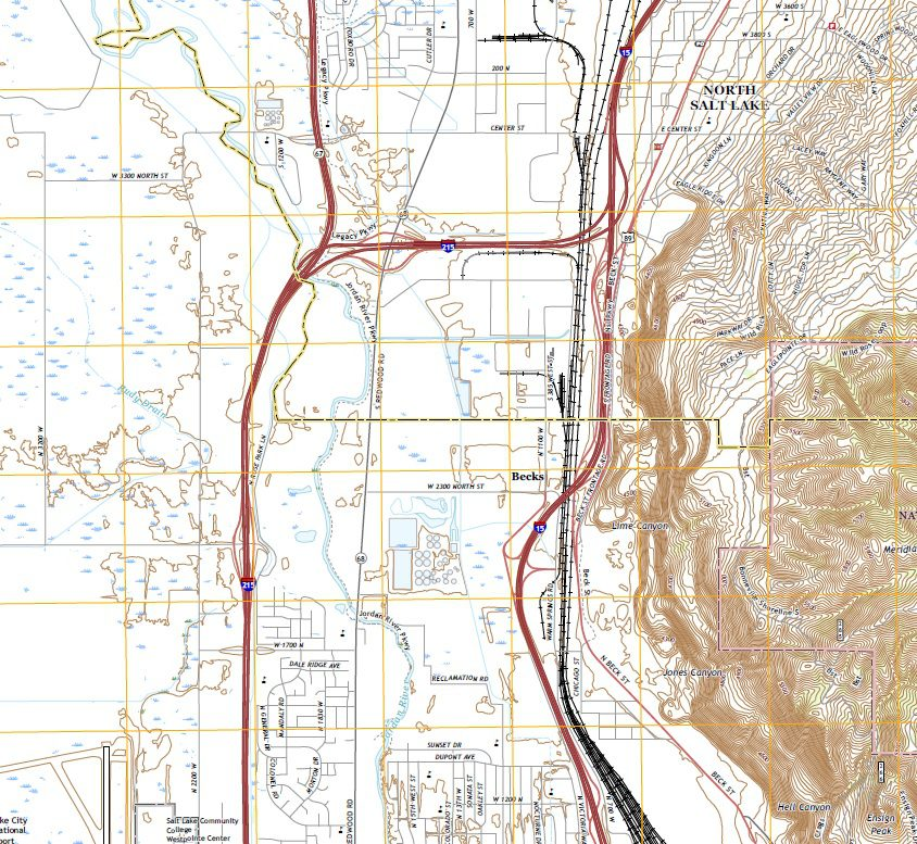 Geology of Northern Salt Lake City, Utah