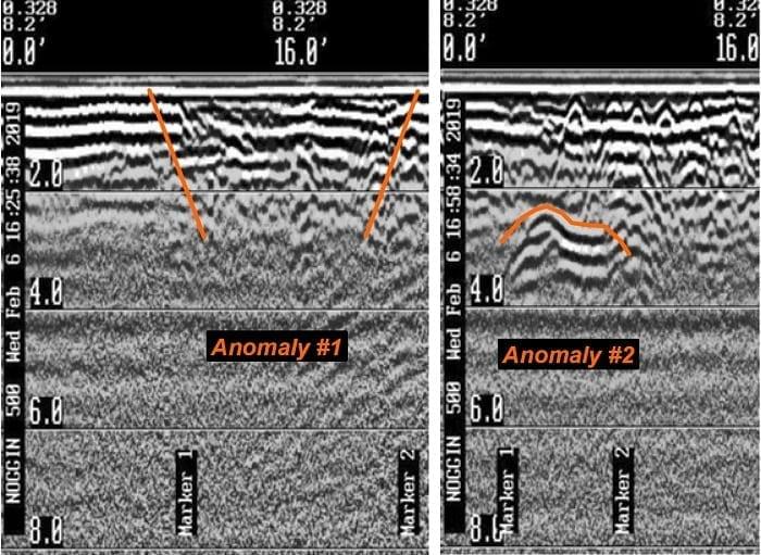 Geophysical Survey Company ground penetrating radar