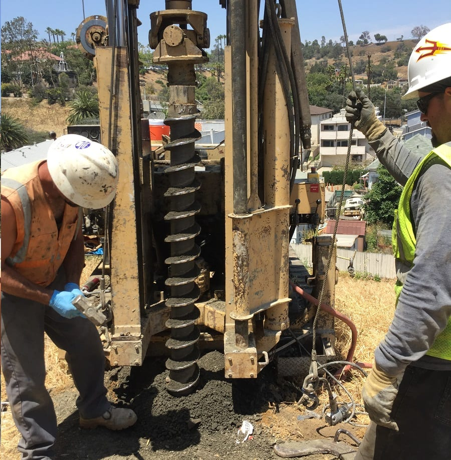 Geotechnical Engineer Los Angeles - Hollow Stem Drilling