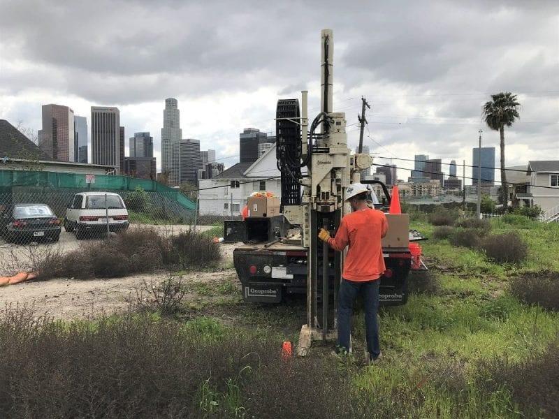 Methane Testing Drilling