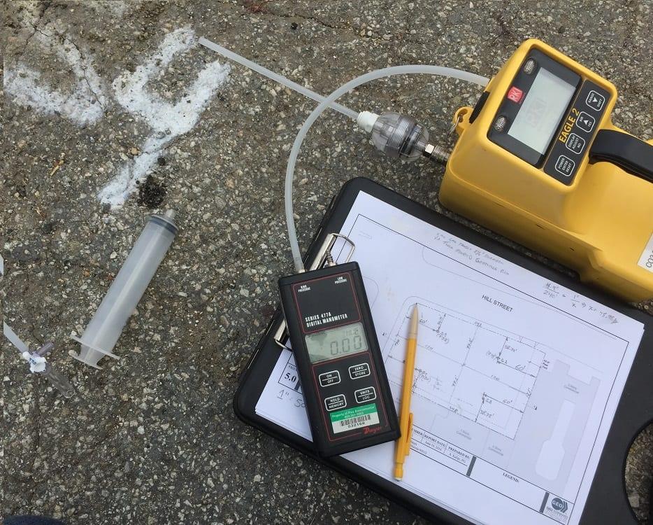 Methane Testing Los Angeles Field Gas Analyzer
