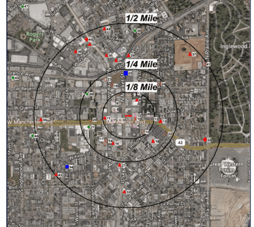 Phase 1 Environmental Assessment ASTM RECs Radius Aerial Map
