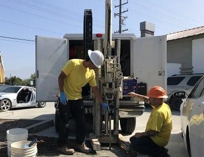Phase 2 Environmental Site Assessment Drilling Using Direct Push Methodology