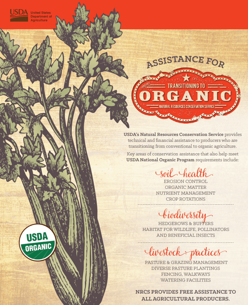 Organic Transition Assistance, - Photo from USDA.gov