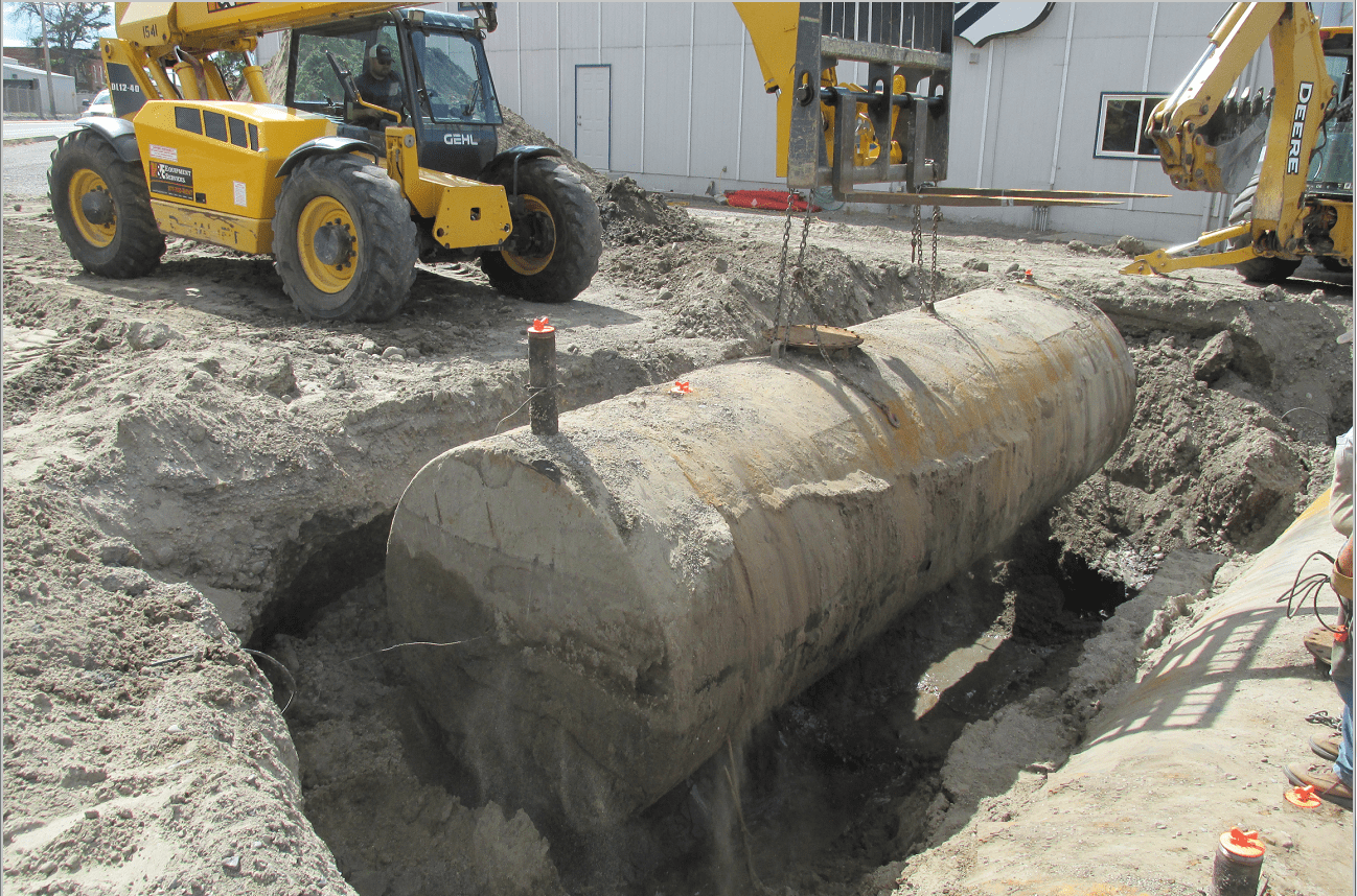 Leaking Underground Storage Tank Removal