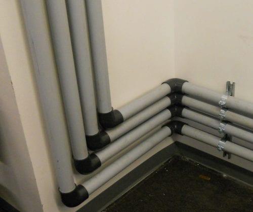 Vertical Vent Riser Pipes