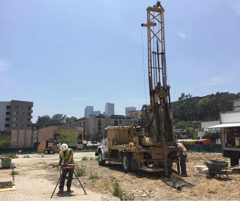 What is a Methane Zone - Testing in LA by Drilling