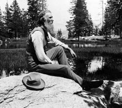 Photo of John Muir, Courtesy of the National Park Service