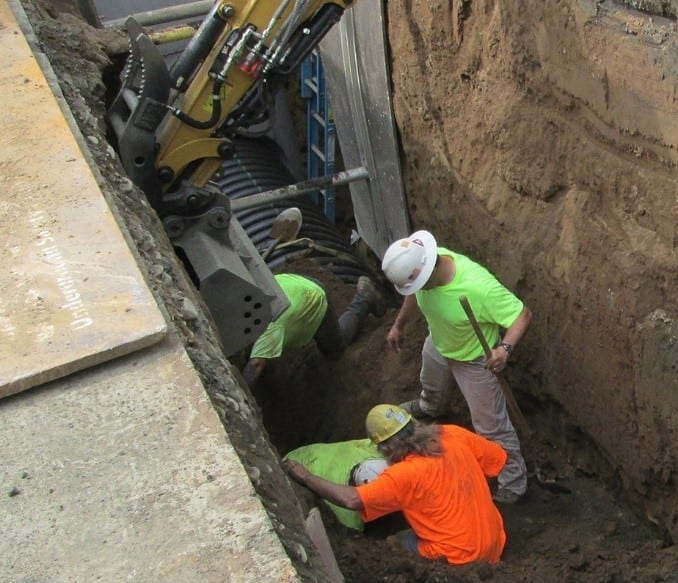 soils management plan for trench project