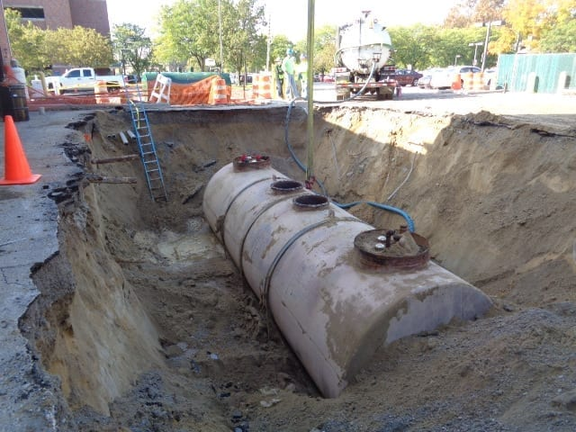 Underground Storage Tank Excavation Projects Require Digging and Environmental Compliance